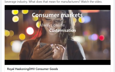 Consumer Goods movie/trailer Royal HaskoningDHV